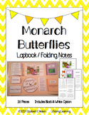 Monarch Butterflies: Lapbook / Interactive Notebook