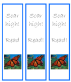 Monarch Butterfly Book Marks