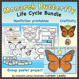 Monarch Butterfly Life Cycle Bundle