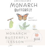 Monarch Butterfly Life Cycle + More