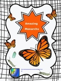 Monarch Butterfly Unit Editable Bundle