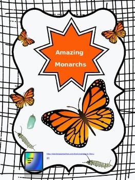 Monarch Butterfly Unit Editable Bundle