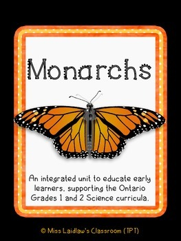 Monarch Caterpillar and Butterfly Inquiry for Primary Learners {Differentiated}