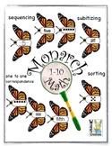 Monarch Butterfly Math