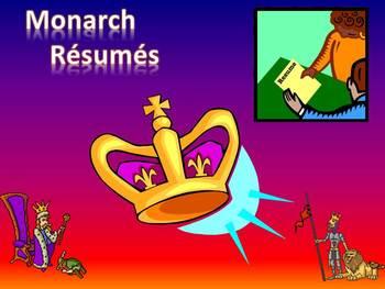 Monarch Résumés