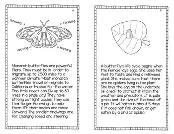Monarch butterflies: a nonfiction text, activities, and assessment