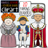Monarchs, Dictators + Historical Leaders Clip Art