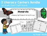 Monarchs First Grade Sight Word Centers - Stamping and Wri