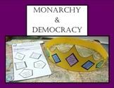 Monarchy & Democracy Sort