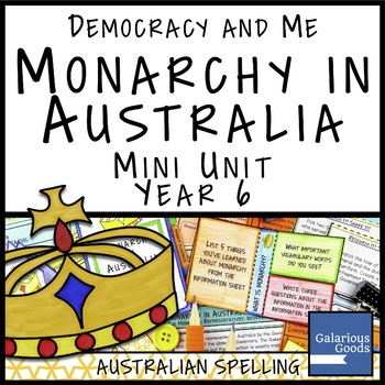 Monarchy in Australia (Year 6 HASS)