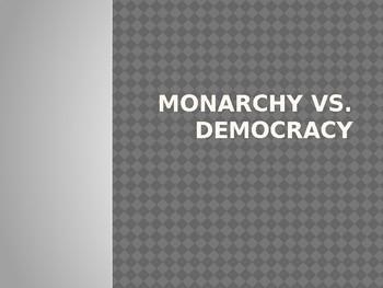 Monarchy vs. Democracy