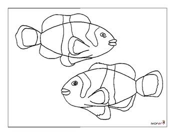 Monart Drawing Project: Clown Fish