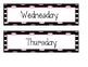 Monday-Friday Bin Labels