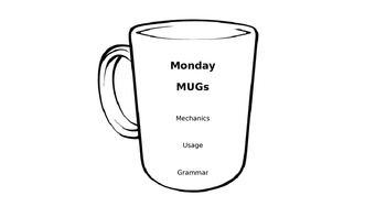Monday MUGs Cover Page