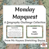 Monday Mapquest: A Geography Challenge Collection