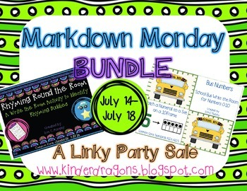 Beginning of the Year Write the Room Bundle {Formally a Markdown Monday product}