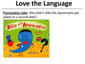 Monday Pun-Day Slides for the Classroom--Preview!