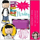 Monday clip art - Mini - by Melonheadz