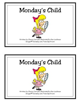 Monday's Child Reproducible Reader