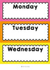 Classroom Labels / Week Posters / Decor