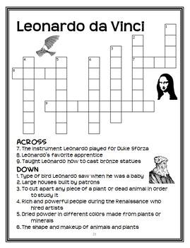 Monday with a Mad Genius | Leonardo da Vinci : Magic Tree House Bundle (49 pgs)
