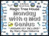 Monday with a Mad Genius : Magic Tree House #38 Novel Study / Comprehension
