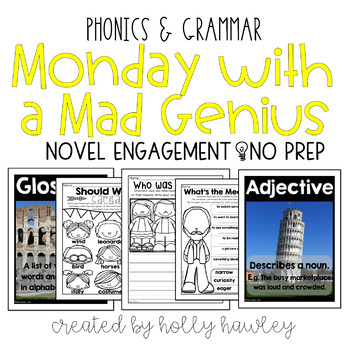 Monday with a Mad Genius NO PREP (ELA)