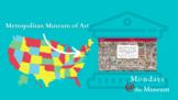 """Virtual Field Trip to the Met - Six Week """"Museum Unit"""" Vid"""