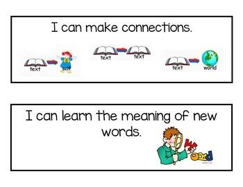 Mondo Bookshop Common Core Themes 7-9 First Grade Strategy Cards