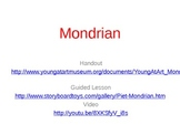 Mondrain Art Lesson & Activity