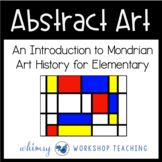 Mondrian Abstract Art Lesson (from Art History for Elementary Bundle)