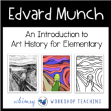 Edvard Munch THE SCREAM Art Lesson (from Art History for Elementary Bundle)