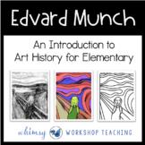 Edvard Munch THE SCREAM Art Lesson (from Art History for Elementary Bundle)