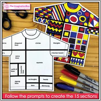 Mondrian Art Activity - Explore Shape and Line
