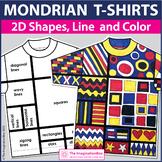 Piet Mondrian Art Activity   Explore 2D Shapes and Patterns