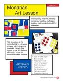 Mondrian Art Lesson