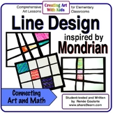 Art Lesson - Mondrian-Inspired Line Design