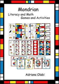 Literacy and Math Games and Activities