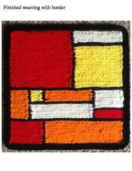 Mondrian Weavings