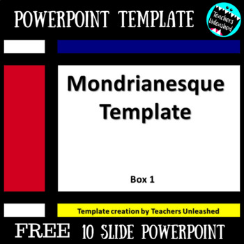 PowerPoint Template - FREE by Teachers Unleashed | TpT
