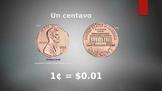 Coins PPT presentation (Spanish)