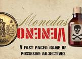 Monedas y Veneno Possessive Adjective Game