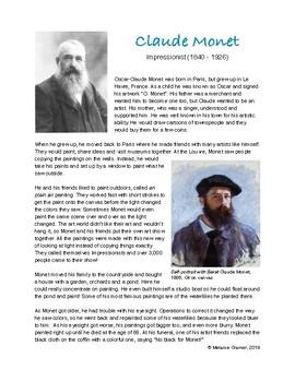 monet biography