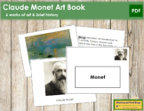 Monet (Claude) Art Book