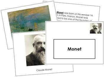 Monet (Claude) Art Book