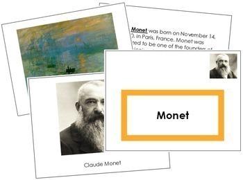 Monet (Claude) Art Book - Color Border