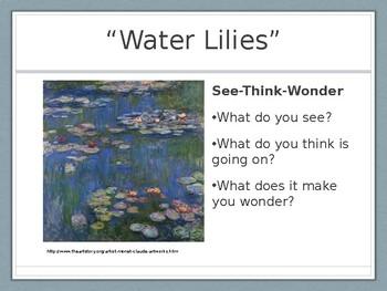 Monet Magic! PowerPoint