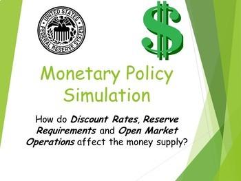 Monetary Policy Simulation
