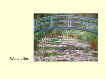Monet's Bridges Presentation