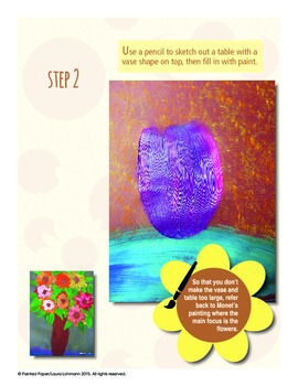 Art History Lesson: Monet's Sunflowers